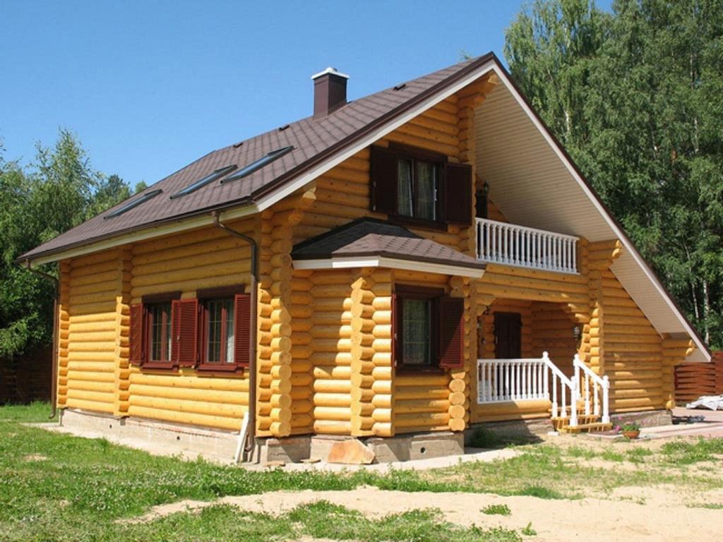 Строительство домов из брус