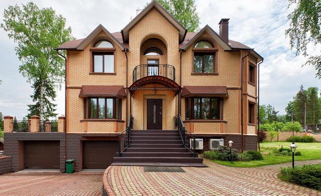 кирпичный дом в красноярске