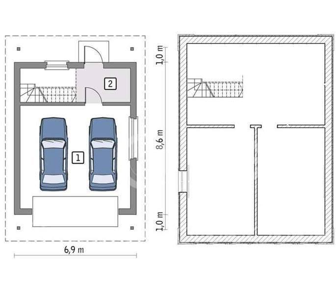 Строительство гаражей в Красноярске под ключ