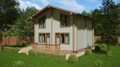 Дом из бруса 'Гостевой'