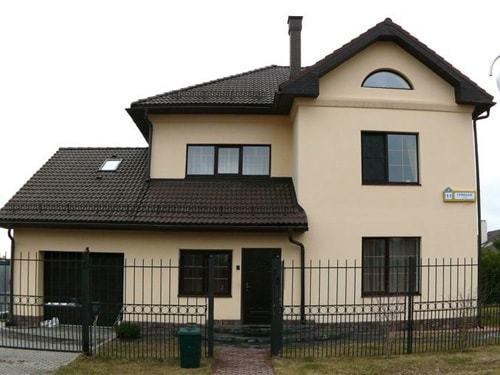 пример Дома с гаражем1