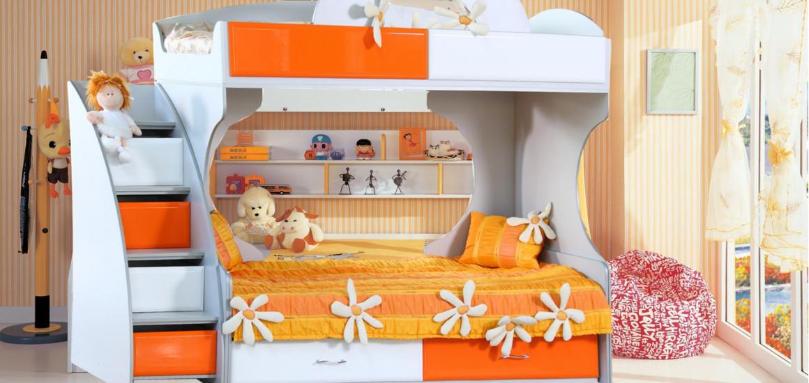 детские двухъярусные кровати на заказ