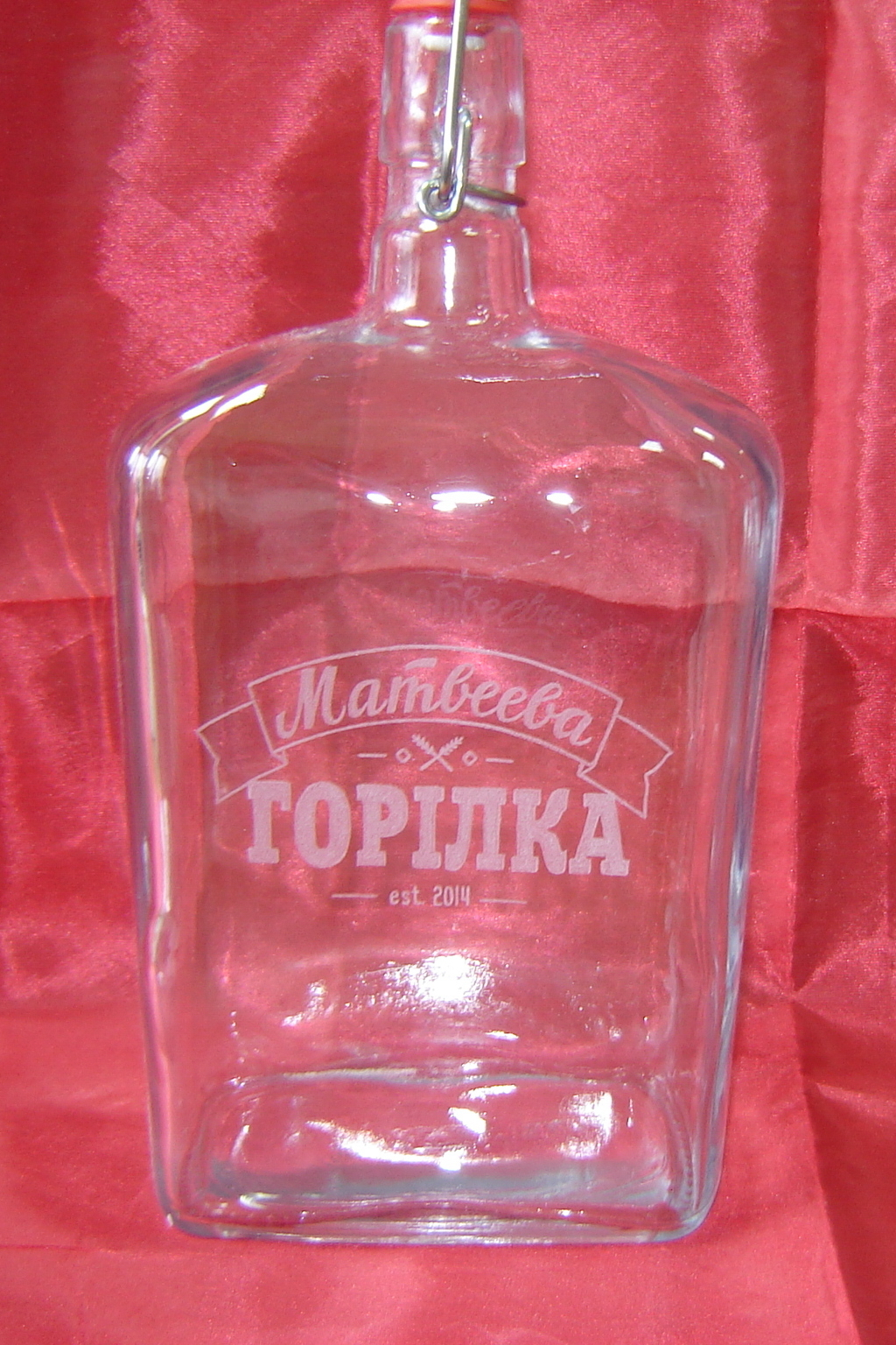 гравировка на бутылке
