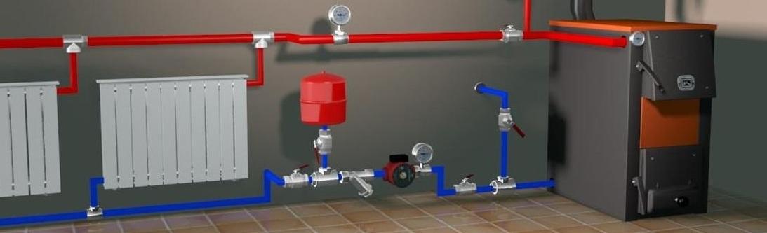 Монтаж системы отопления в Вологде