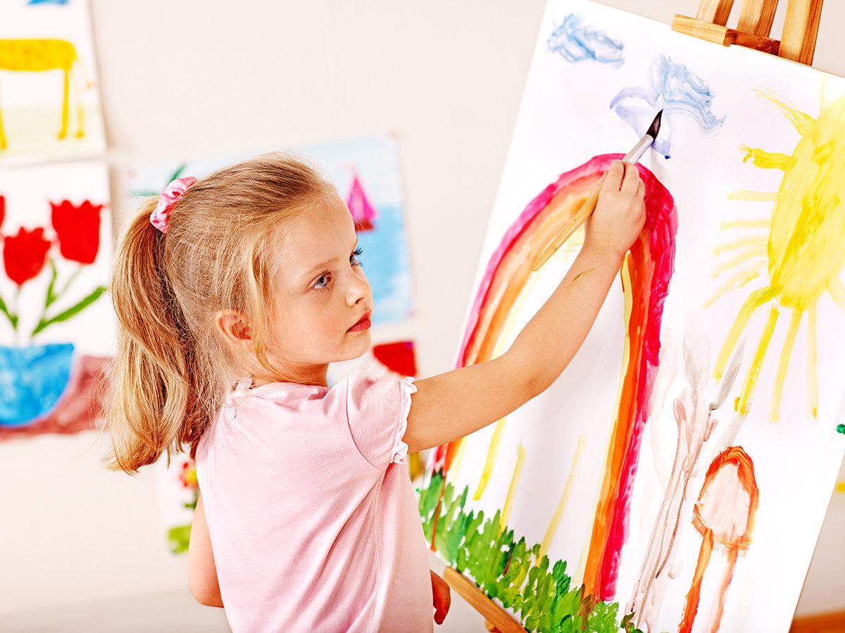 Обучение рисованию детей