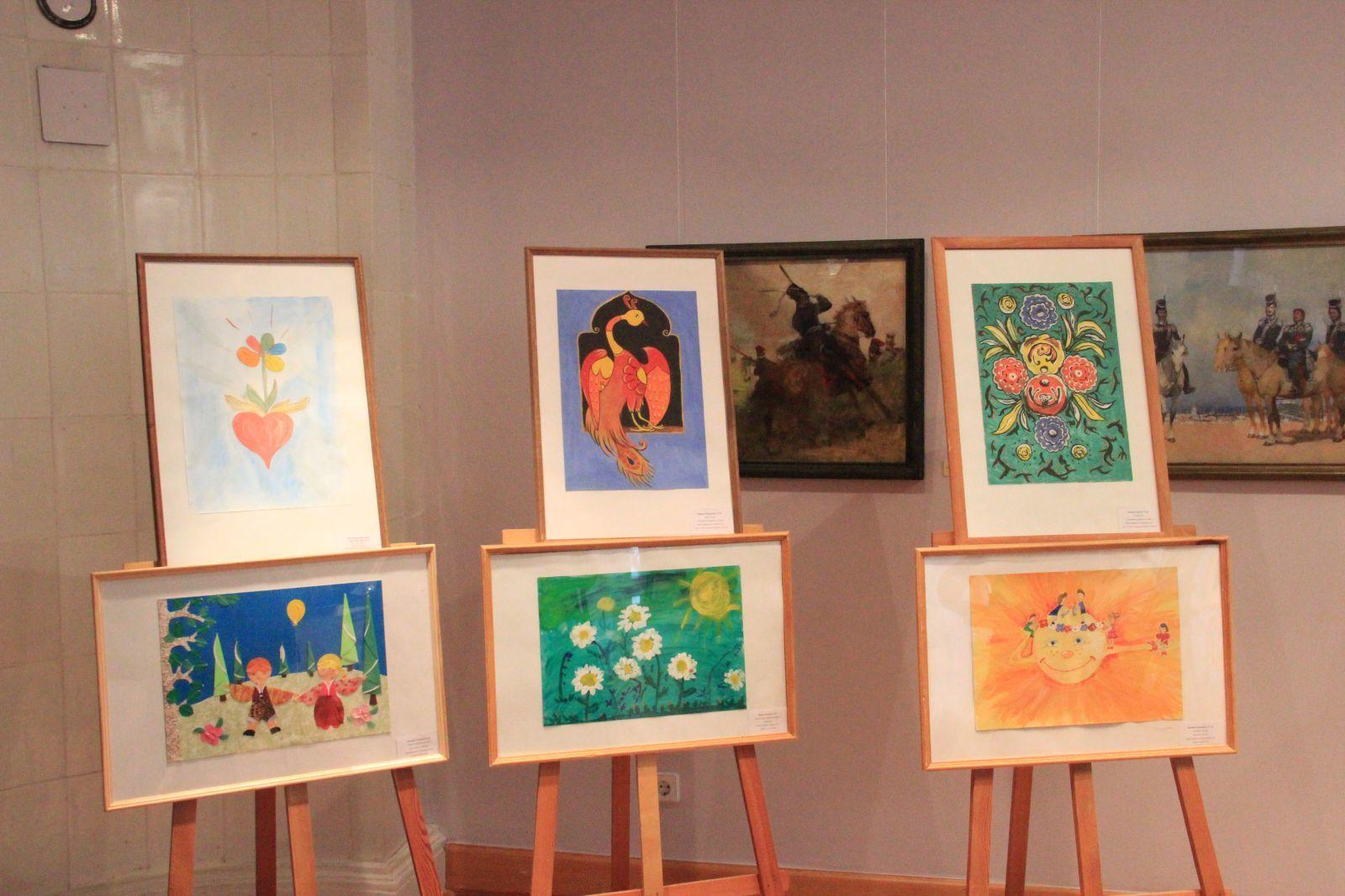 детские выставки
