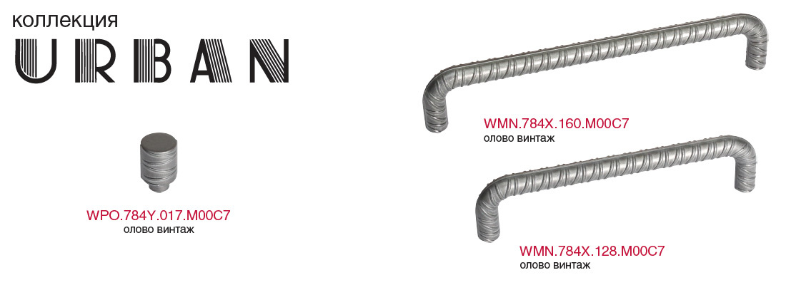 Мебельные ручки WMN.784