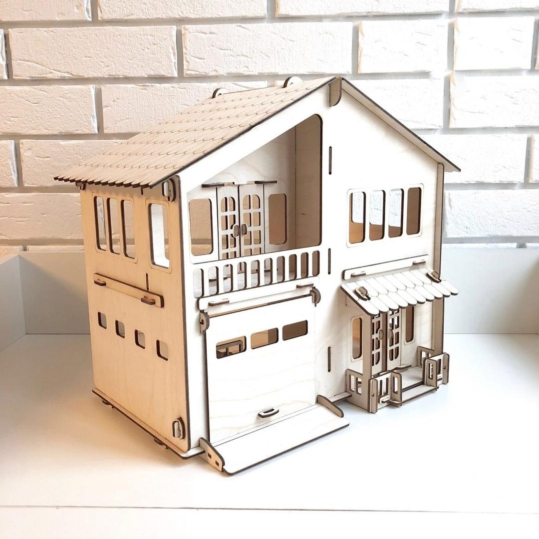 """Конструктор """"Дом с гаражом"""" размер- 41 х 34 х 24 купить в Череповце в магазинах Игрушки Сити за 530 руб"""