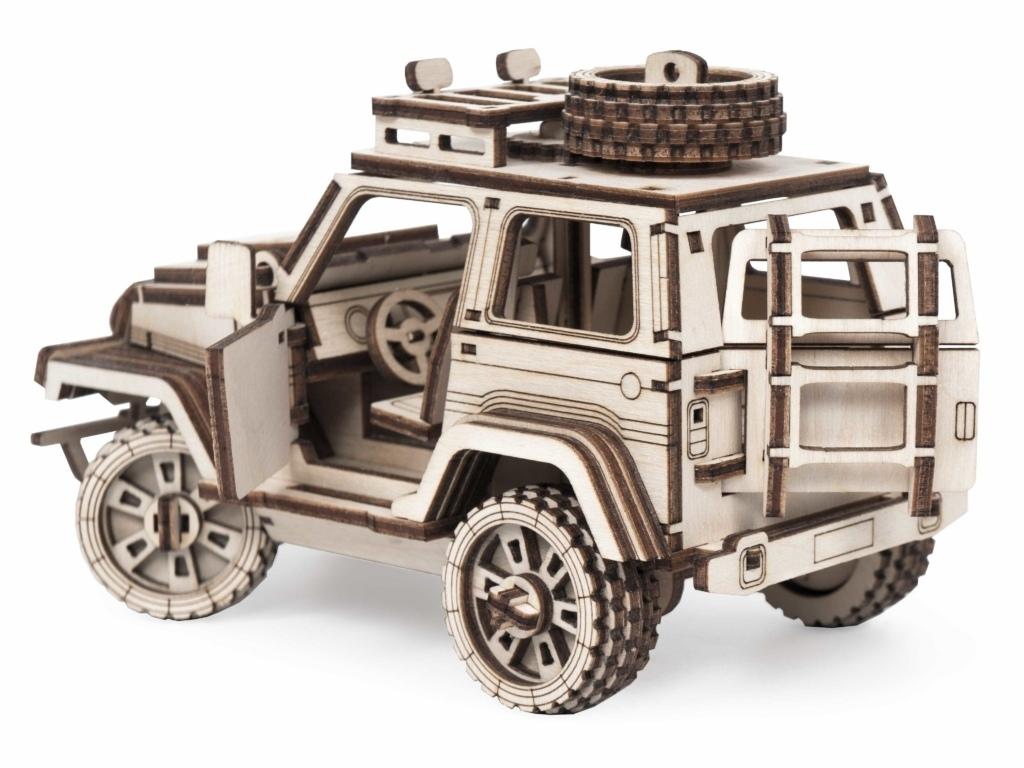Внедорожник «Трикс» Игрушки Сити деревянная модель с подвижными деталями Череповец