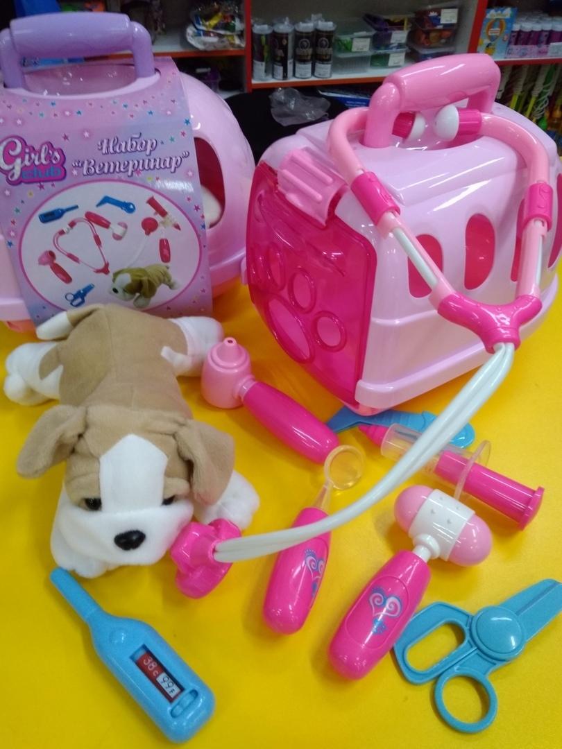 набор ветеринар в игрушки сити череповец