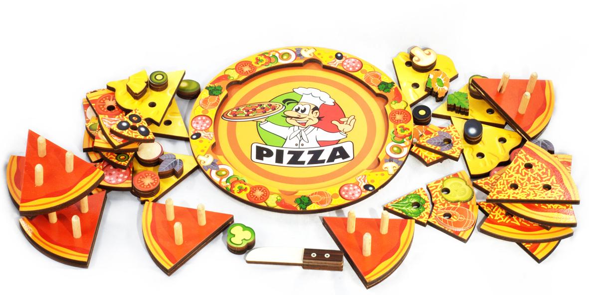 пицца деревянная