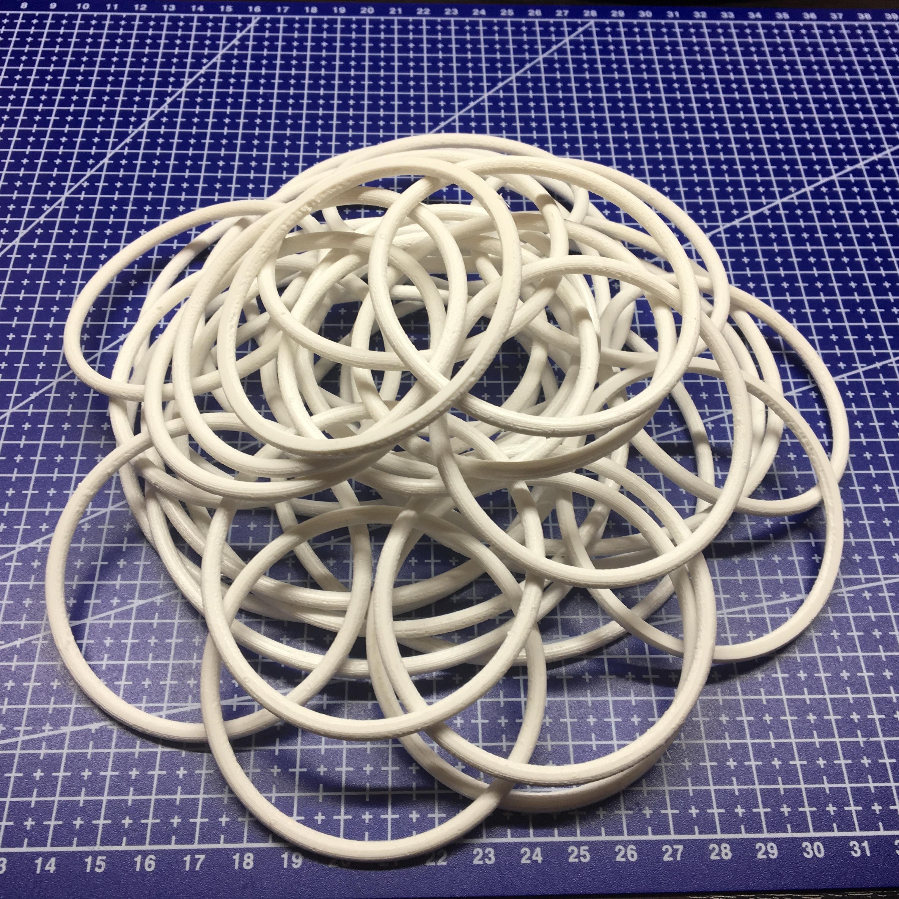 3D печать прокладок гидроциллиндра трактора К-700