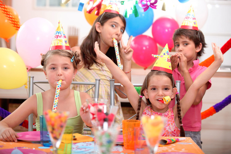 детский день рождения в кафе
