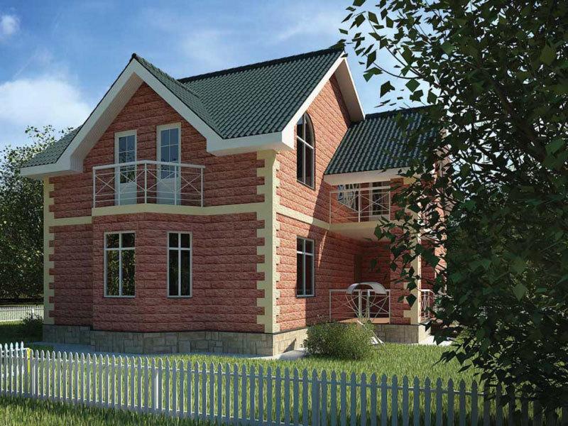 Строительство домов из теплоблоков под ключ в Череповце
