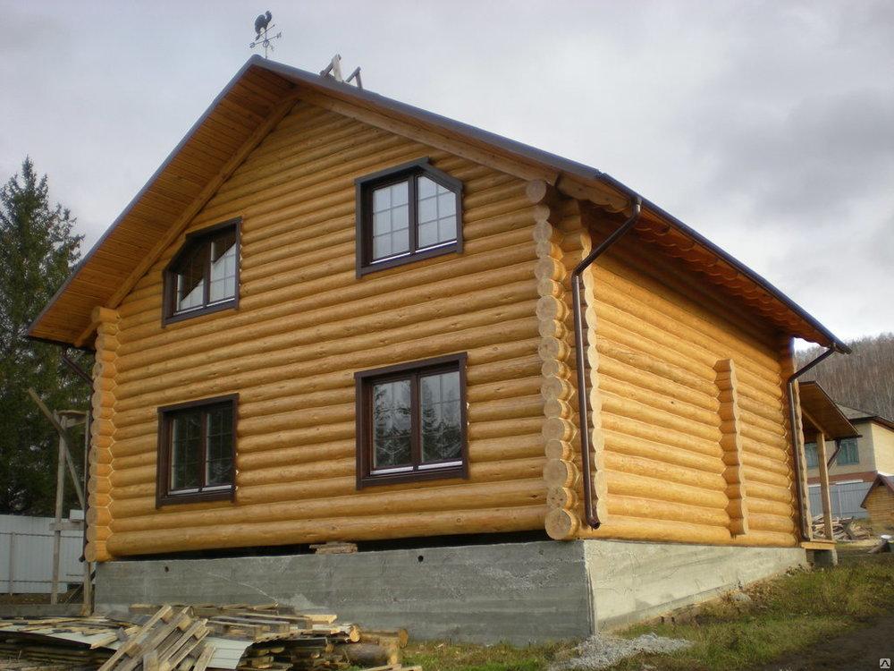 Дом из бревна под рубанок в Череповце
