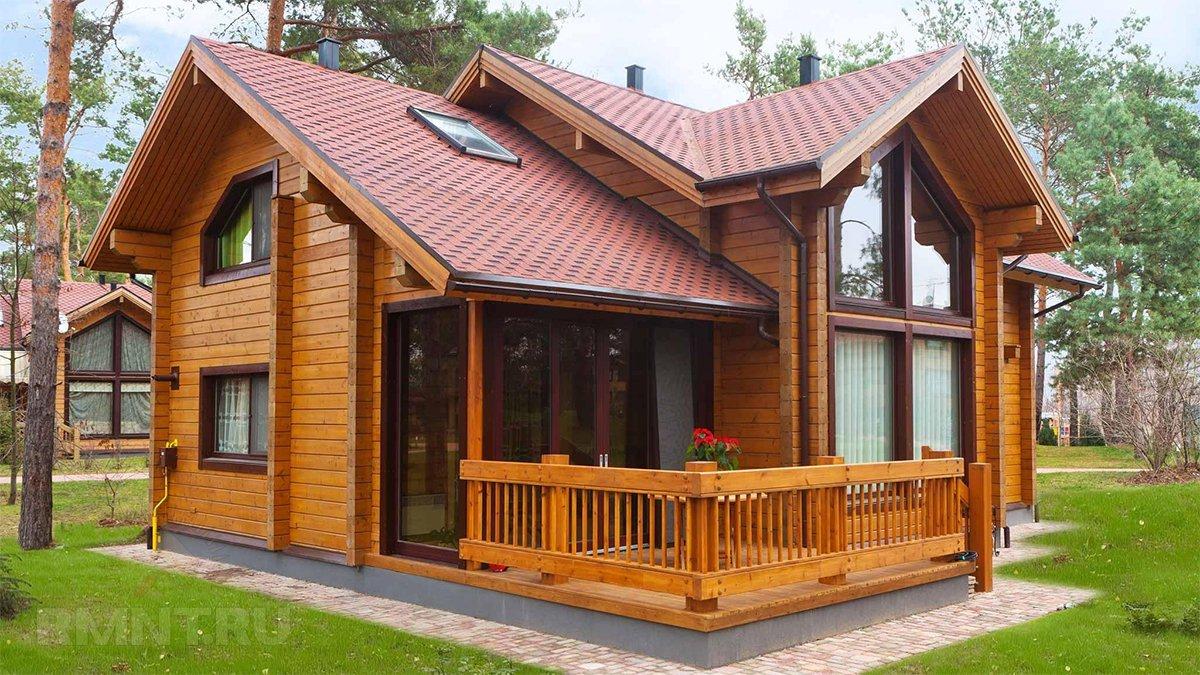 Дом из профилированного бруса в Череповце
