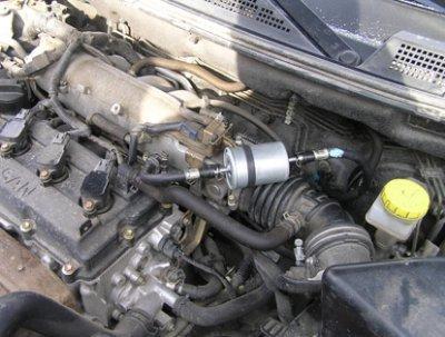 ремонт и замена дизельного топливного фильтра