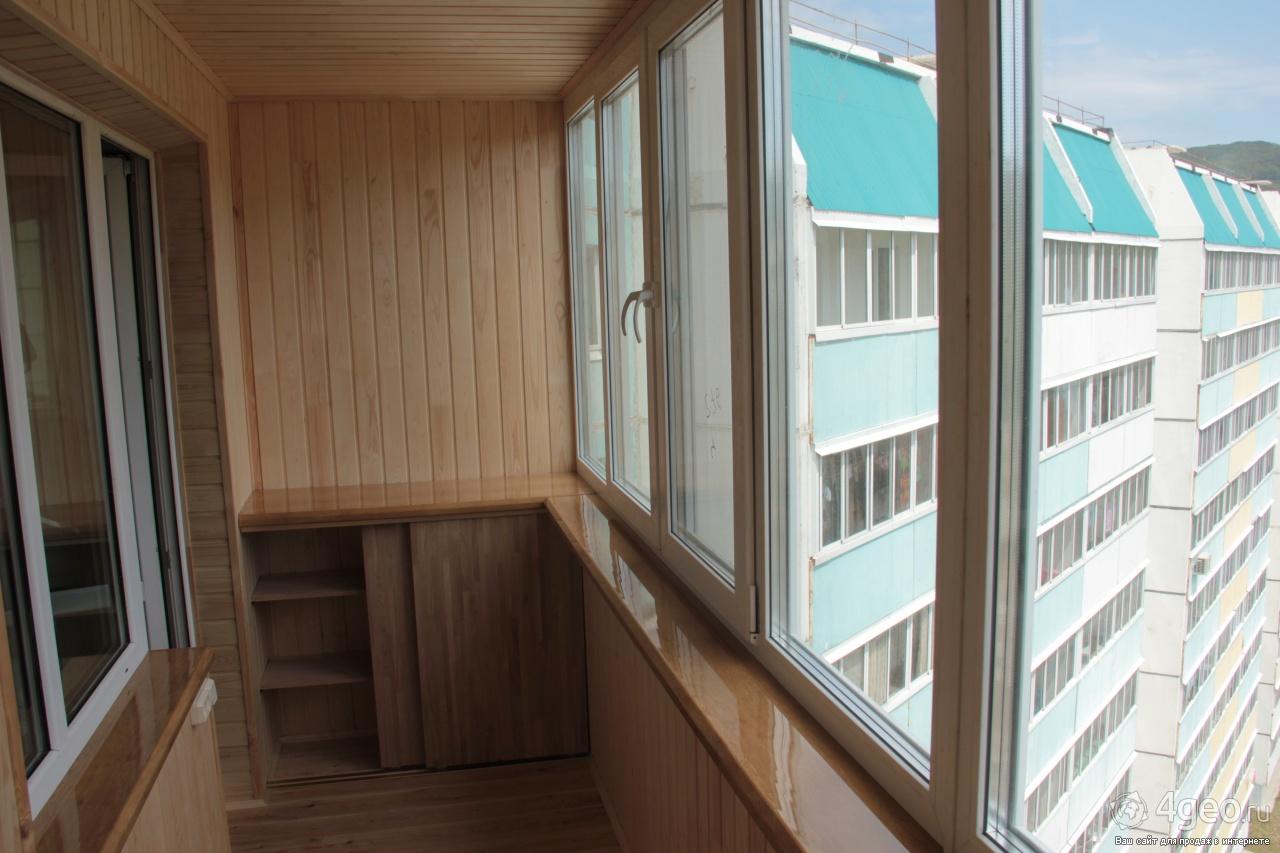 Внутренняя отделка балконов и лоджий вагонкой во архангельск.