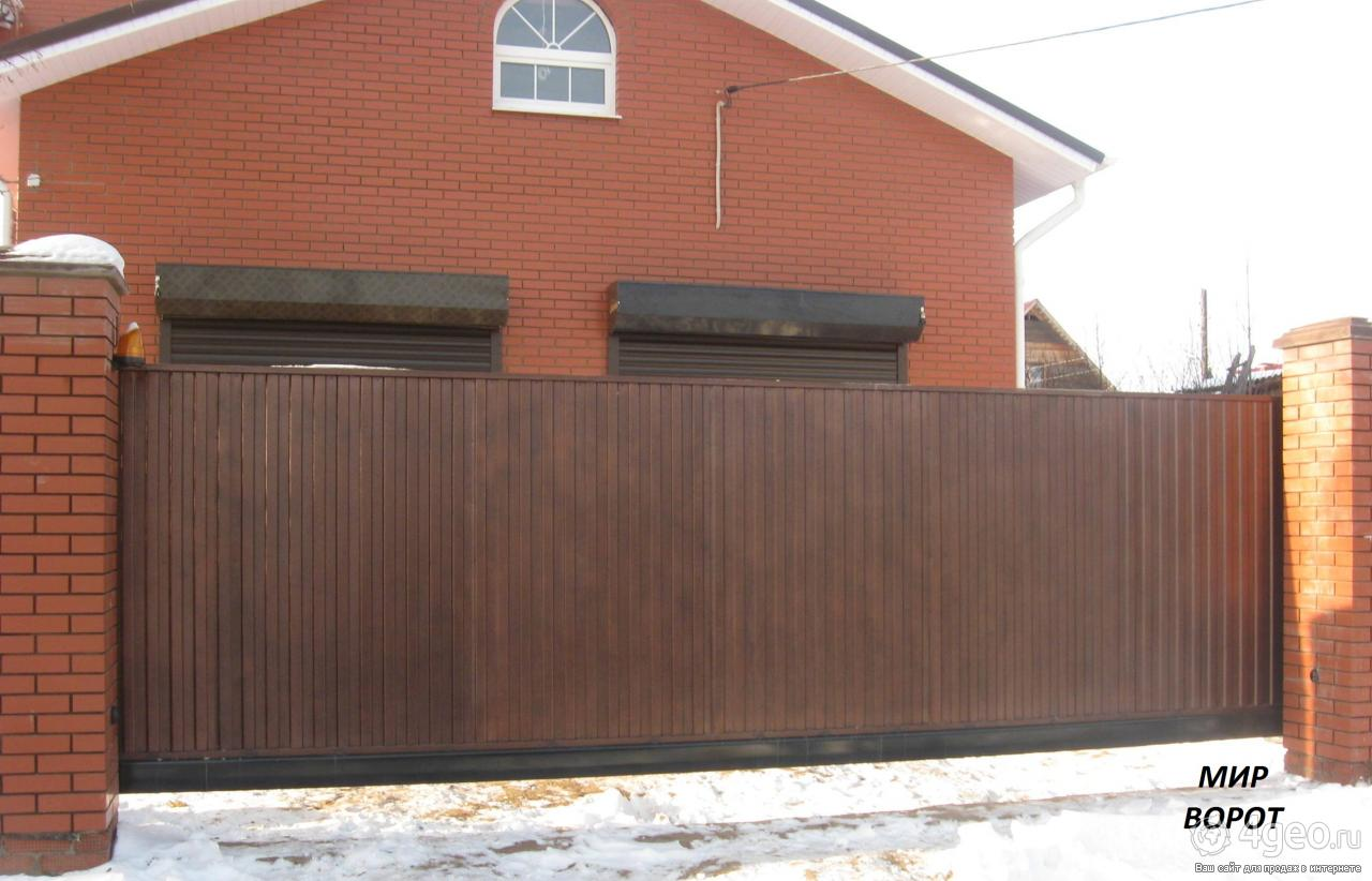 Ворота на гараж автоматические на