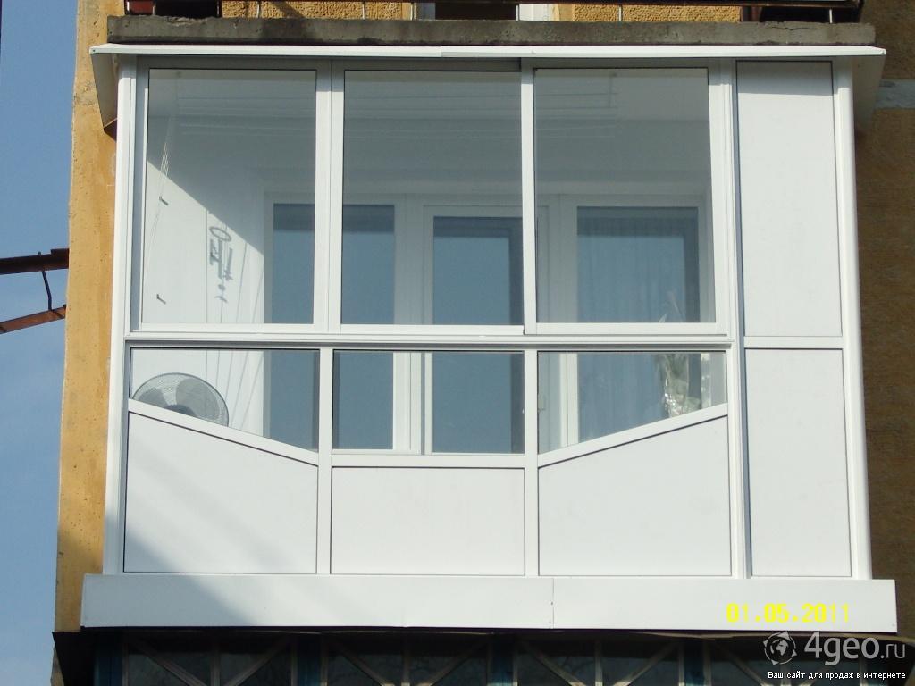 Ограничения остекление балконов и лоджий. - металлопластиков.