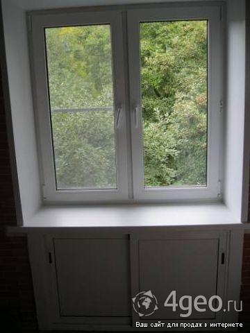 Сколько стоит пластиковое окно на кухню